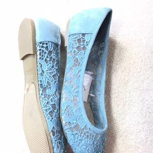 Shoes - ⬇️$29 Lace & Rhinestones slip on Shoes Women's 7.5